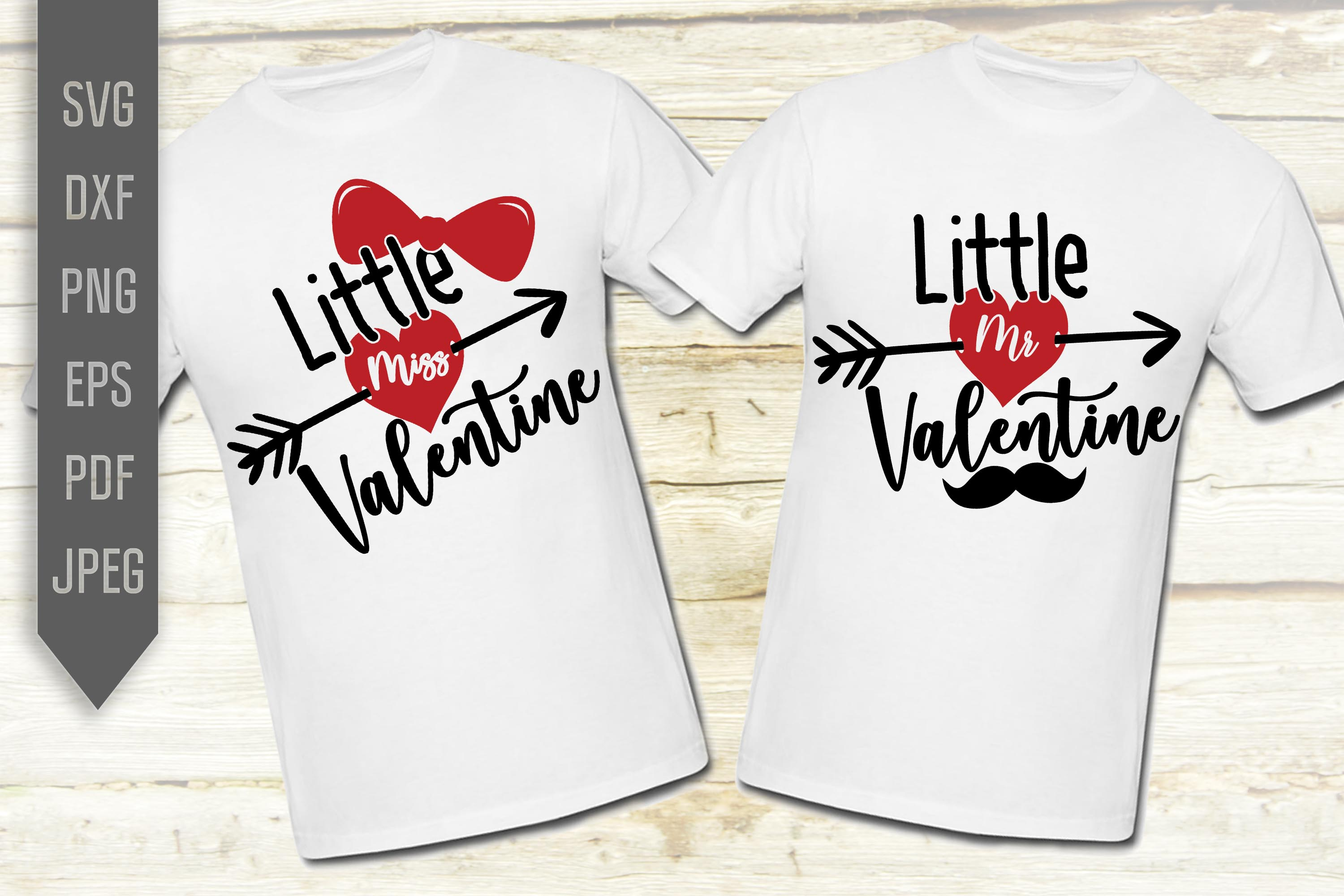 Download Free Little Miss And Mr Valentine Svg Crafts Graphic By Svglaboratory for Cricut Explore, Silhouette and other cutting machines.