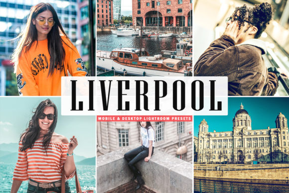Print on Demand: Liverpool Lightroom Presets Pack Graphic Actions & Presets By Creative Tacos