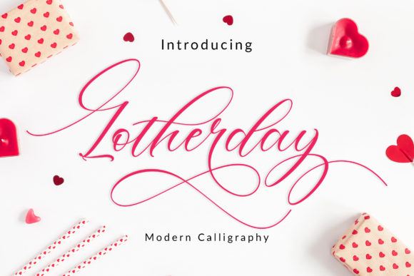 Print on Demand: Lotherday Script & Handwritten Font By Amarlettering