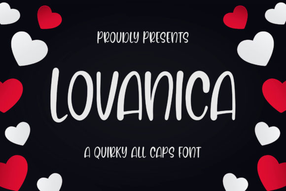 Print on Demand: Lovanica Display Schriftarten von Blankids Studio