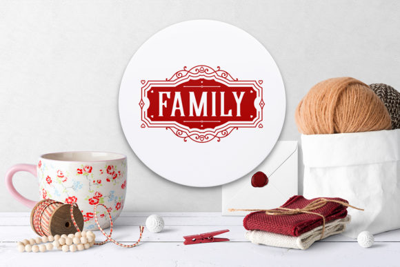 Print on Demand: Love Family Quotes. SVG Bundle. Vol. 2 Graphic Crafts By millerzoa - Image 7