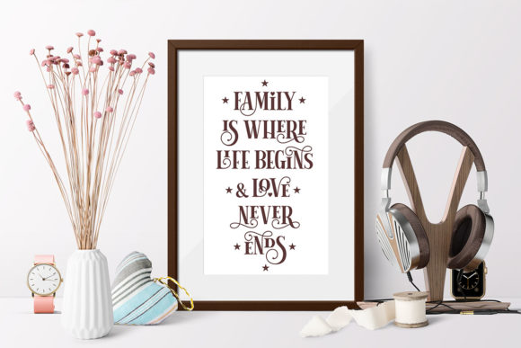 Print on Demand: Love Family Quotes. SVG Bundle. Vol. 2 Graphic Crafts By millerzoa - Image 8