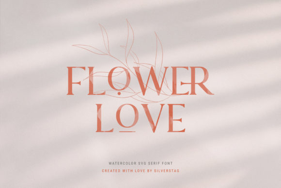 Print on Demand: Lovers Serif Font By SilverStag - Image 10