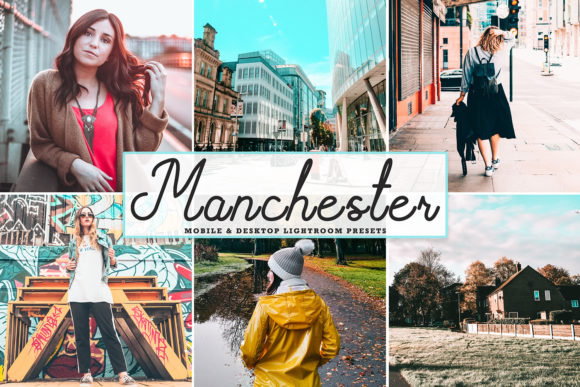 Print on Demand: Manchester Pro Lightroom Presets Graphic Actions & Presets By Creative Tacos