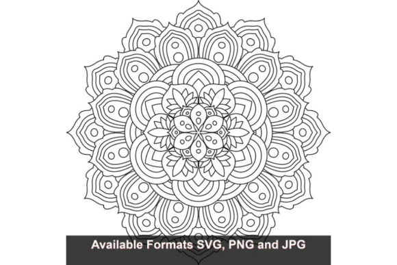 Print on Demand: Mandala Art #827 Graphic Graphic Crafts By iwantto.us