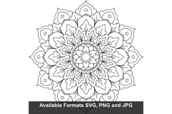 Print on Demand: Mandala Art #828 Graphic Graphic Crafts By iwantto.us