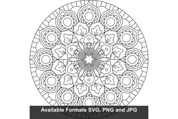 Print on Demand: Mandala Art #837 Graphic Graphic Crafts By iwantto.us