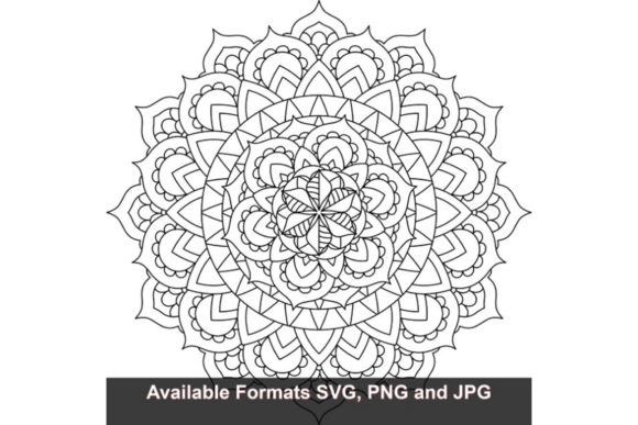 Print on Demand: Mandala Art #839 Graphic Graphic Crafts By iwantto.us