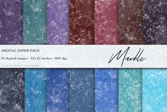 Marble Digital Papers Marble Background Graphic By Bonadesigns
