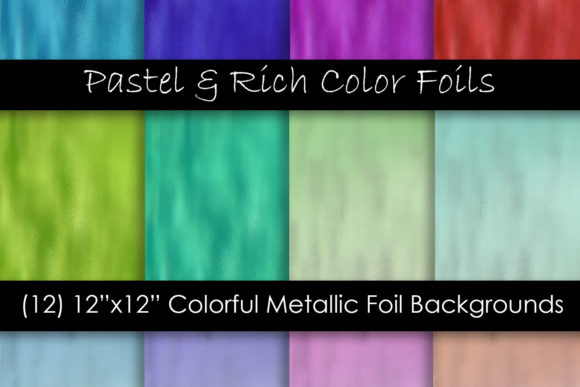 Metallic Foil Textures Graphic Textures By GJSArt - Image 1