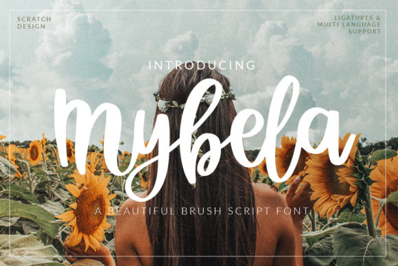 Print on Demand: Mybela Script & Handwritten Font By Scratch Design