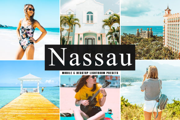 Print on Demand: Nassau Lightroom Presets Pack Graphic Actions & Presets By Creative Tacos