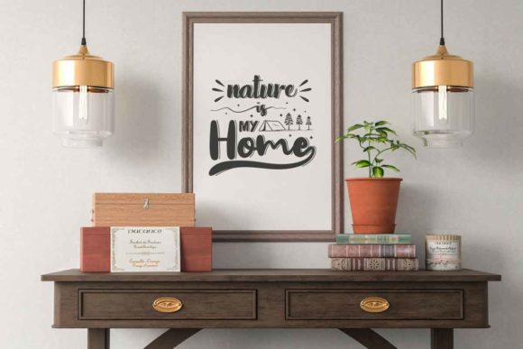 Download Free Nature Is My Home Svg File For Adventure Graphic By Svgsupply for Cricut Explore, Silhouette and other cutting machines.