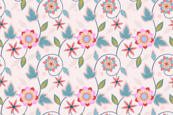 Ornament Flowers Design Seamless Pattern Graphic Patterns By ranger262