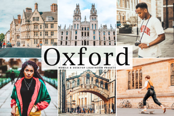 Print on Demand: Oxford Lightroom Presets Pack Graphic Actions & Presets By Creative Tacos