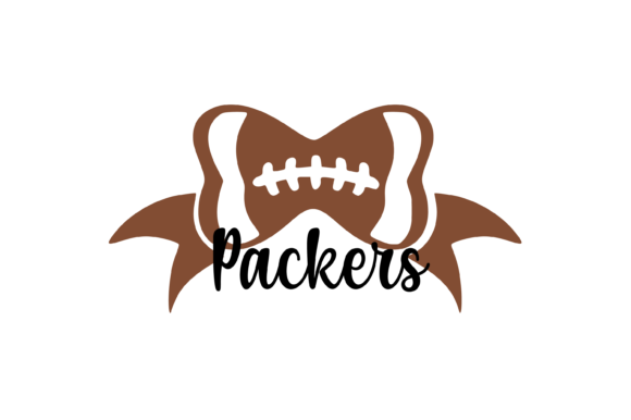 Download Free Packers Football Bow Svg Graphic Graphic By Am Digital Designs for Cricut Explore, Silhouette and other cutting machines.