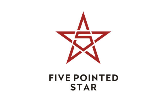 Download Free Pentagram 5 Five Pointed Star Logo Grafico Por Enola99d for Cricut Explore, Silhouette and other cutting machines.