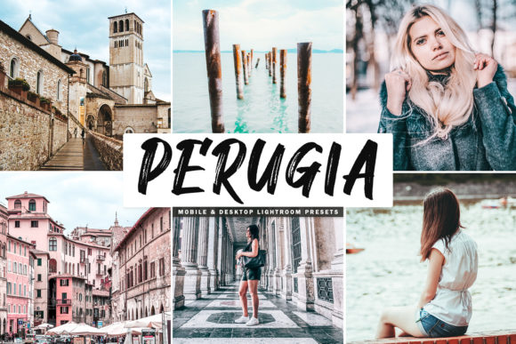 Print on Demand: Perugia Lightroom Presets Pack Graphic Actions & Presets By Creative Tacos