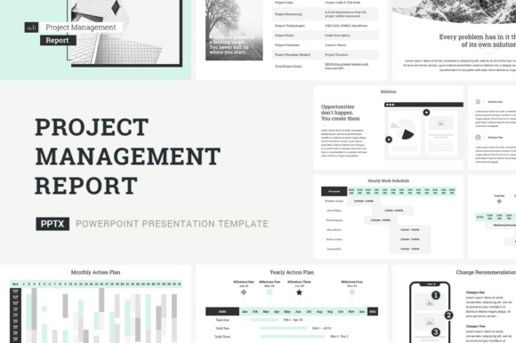 Download Free Project Management Report Powerpoint Grafik Von Jetztemplates for Cricut Explore, Silhouette and other cutting machines.