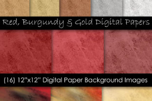 Red Rock & Stone Textures Graphic Textures By GJSArt