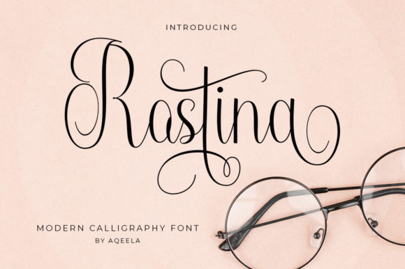 Print on Demand: Rostina Script & Handwritten Font By Aqeela Studio