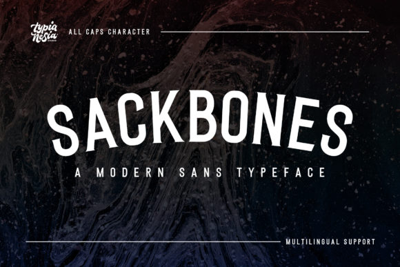 Print on Demand: Sackbones Serif Font By Typia Nesia