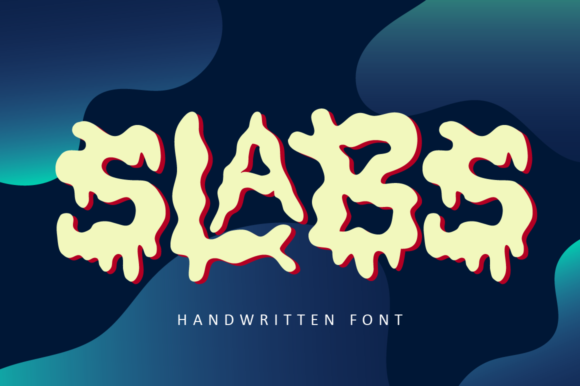 Print on Demand: Slabs Slab Serif Font By illushvara - Image 1