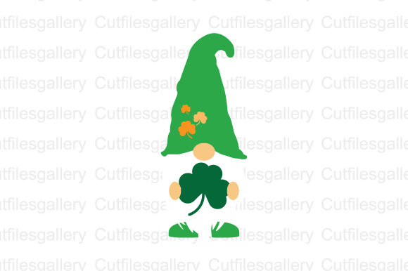St Patricks Gnome SVG Graphic Crafts By cutfilesgallery