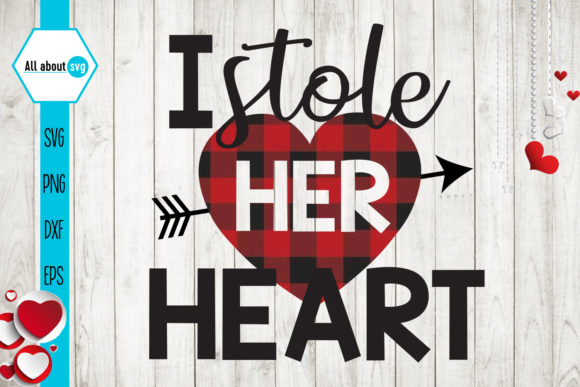 Download Free Stole Her Heart Valentine S Buffalo Graphic By All About Svg for Cricut Explore, Silhouette and other cutting machines.