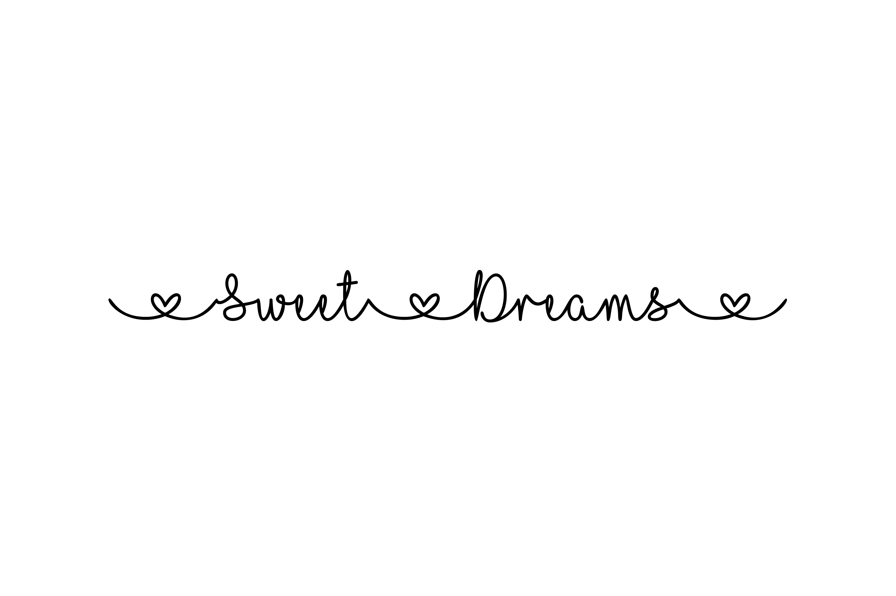 Download Free Sweet Dreams Word Art Heart Font Svg Grafik Von Am Digital for Cricut Explore, Silhouette and other cutting machines.