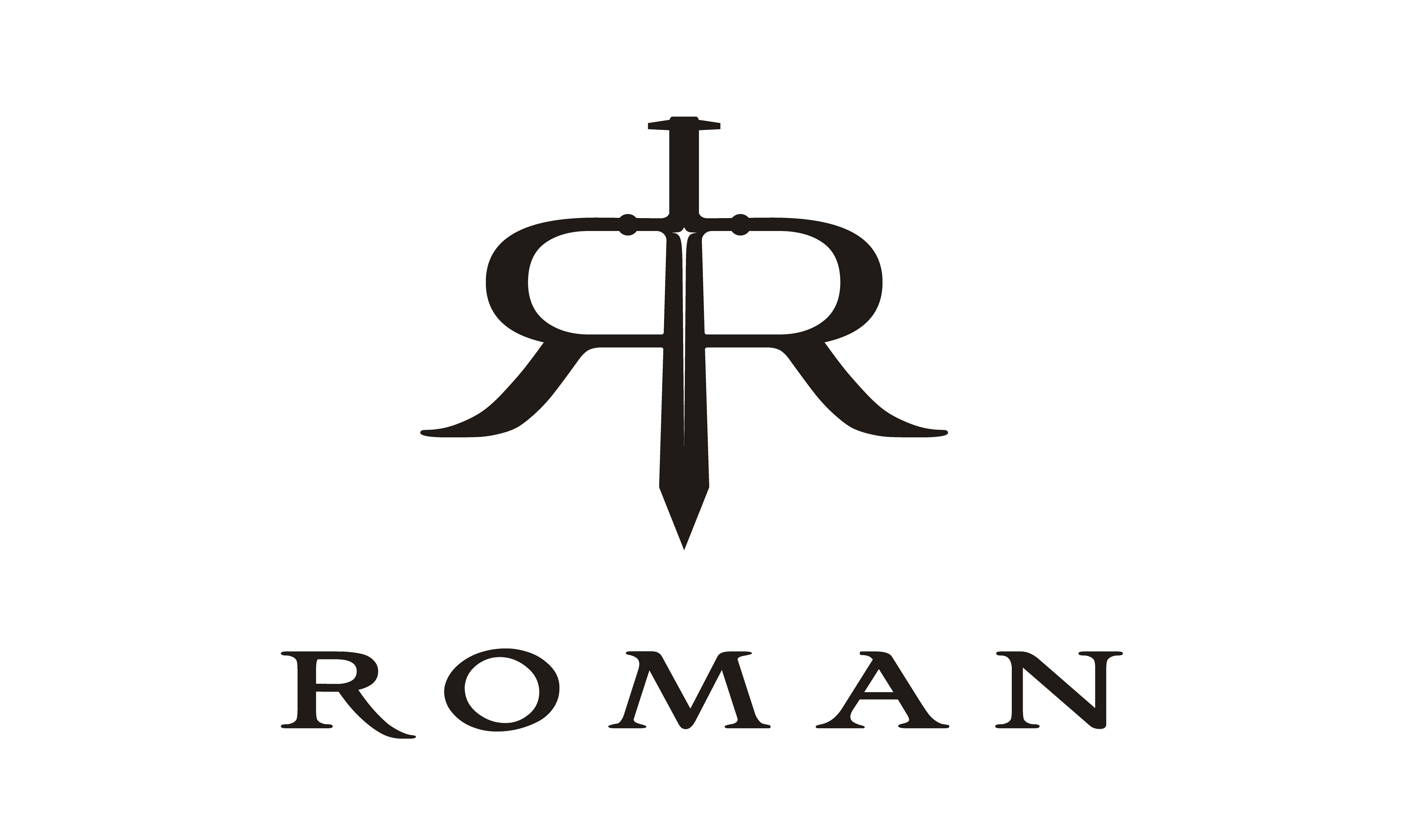 Download Free Sword Initial Letter R Rr Roman Logo Graphic By Enola99d for Cricut Explore, Silhouette and other cutting machines.