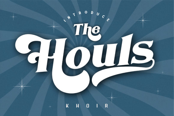 Print on Demand: The Houls Display Font By mrkhoir012 - Image 1
