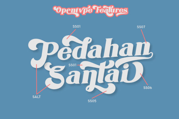 Print on Demand: The Houls Display Font By mrkhoir012 - Image 9