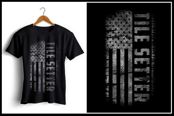 Download Free Tile Setter Us Flag T Shirt Design Graphic By Zaibbb for Cricut Explore, Silhouette and other cutting machines.