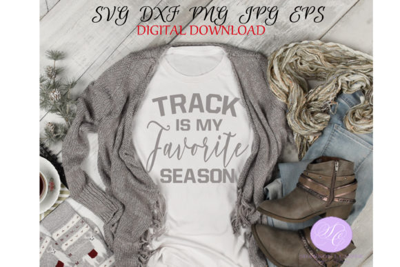 Print on Demand: Track is My Favorite Season Graphic Illustrations By Shannon Casper