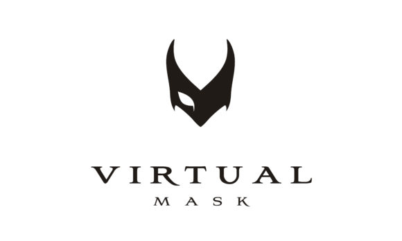 Download Free V Venetian Mask Masquerade Ball Logo Graphic By Enola99d for Cricut Explore, Silhouette and other cutting machines.