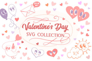 Print on Demand: Valentine's Day Collection- 9 Items Graphic Crafts By tatiana.cociorva