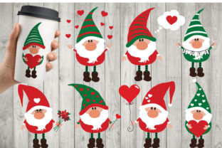 Download Free Valentine S Gnomies Bundle Gnome Graphic By All About Svg for Cricut Explore, Silhouette and other cutting machines.