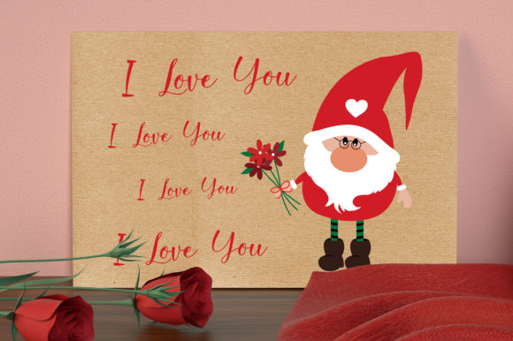 Valentines Gnomies Bundle Svg, Gnome Svg Graphic Crafts By All About Svg - Image 7