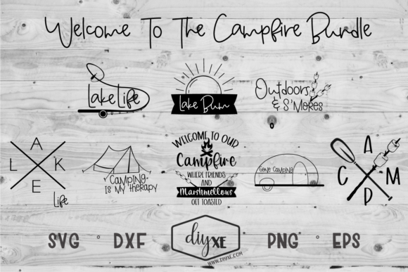 Welcome to the Campfire Bundle Graphic Crafts By Sheryl Holst