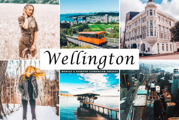 Print on Demand: Wellington Lightroom Presets Pack Graphic Actions & Presets By Creative Tacos
