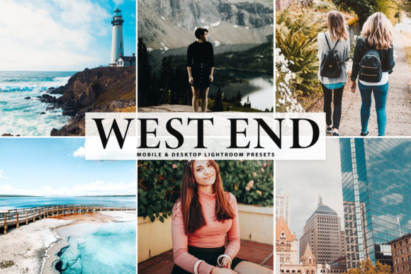 Print on Demand: West End Lightroom Presets Pack Graphic Actions & Presets By Creative Tacos