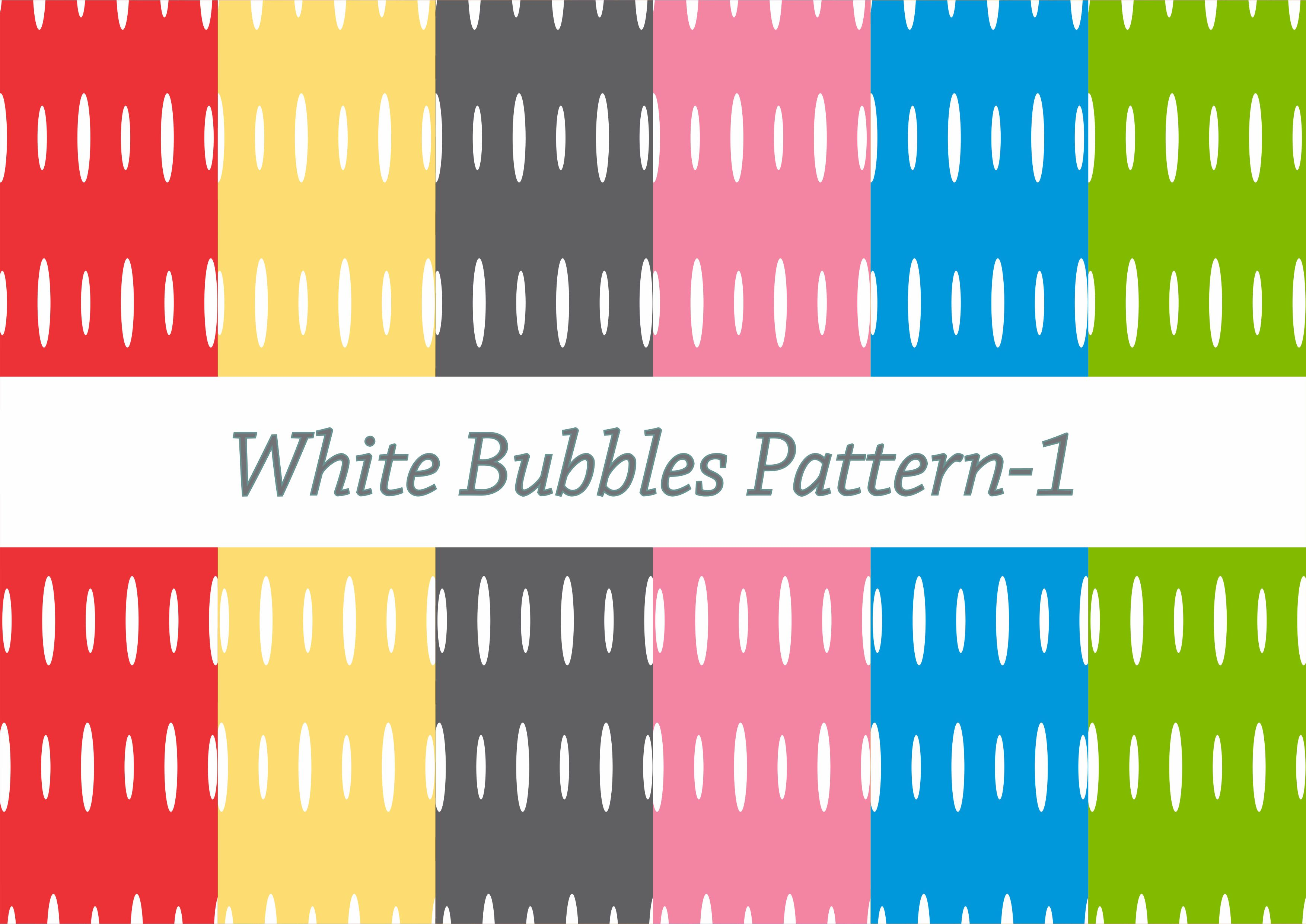 Download Free White Bubbles Pattern Graphic By Designclusters Creative Fabrica for Cricut Explore, Silhouette and other cutting machines.