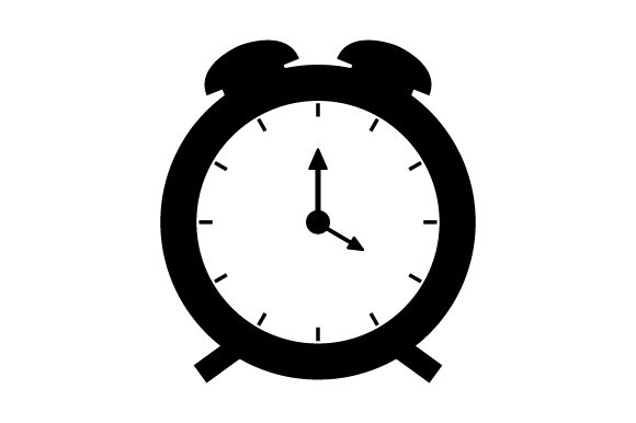 Download Free Alarm Clock Icon Grafico Por Marco Livolsi2014 Creative Fabrica for Cricut Explore, Silhouette and other cutting machines.