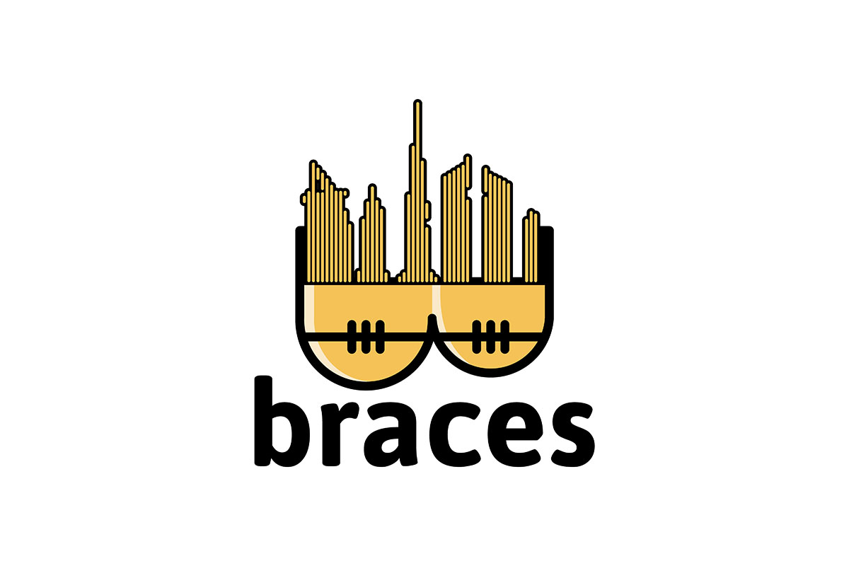 Download Free Brace Logo Ideas Inspiration Logo Desig Graphic By for Cricut Explore, Silhouette and other cutting machines.