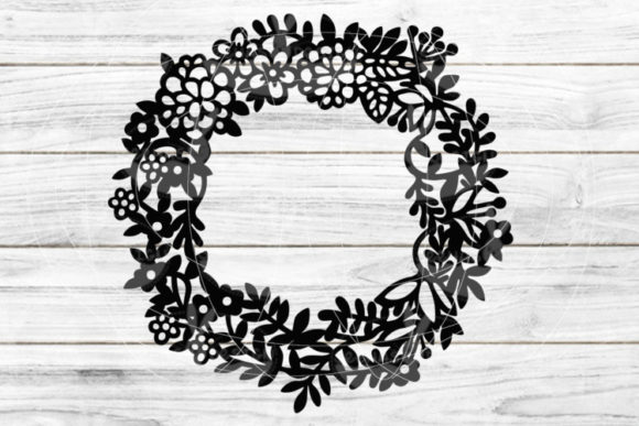 Decoration Wreath Graphic Graphic Templates By seehas-design