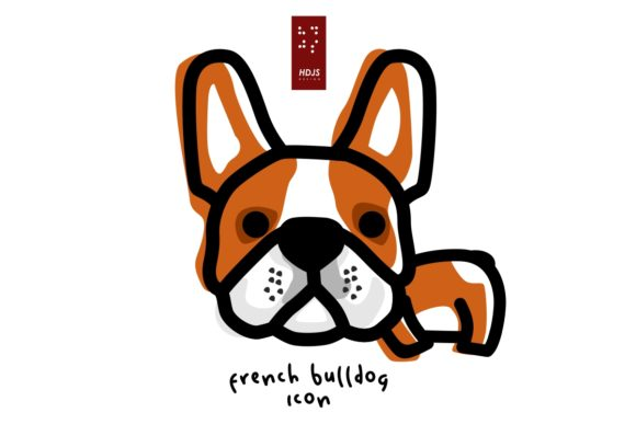 French Bulldog Lazy Graphic Icons By Hdjs.design