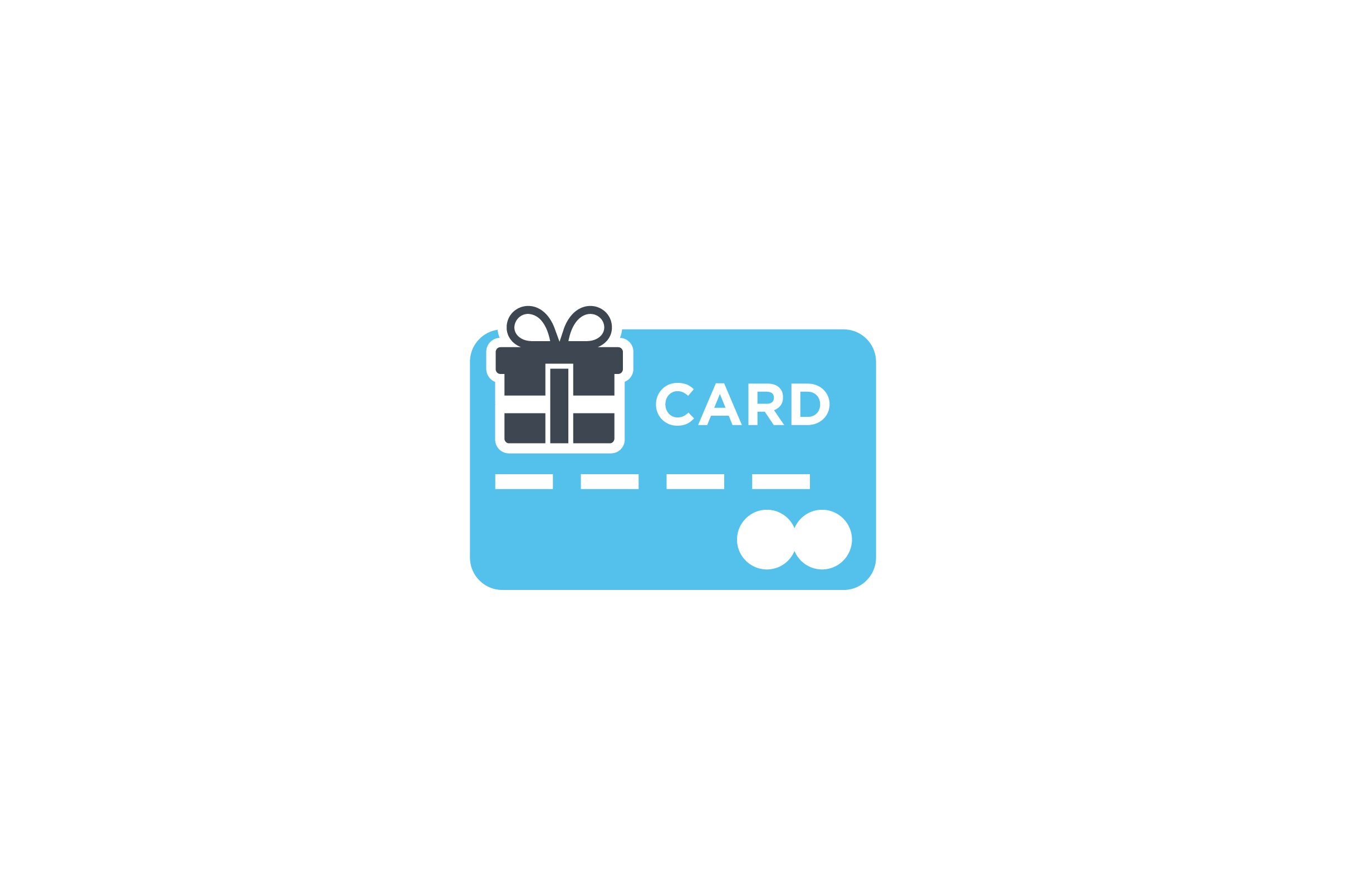 Download Free Gift Box With Credit Card Flat Icon Graphic By Riduwan Molla for Cricut Explore, Silhouette and other cutting machines.