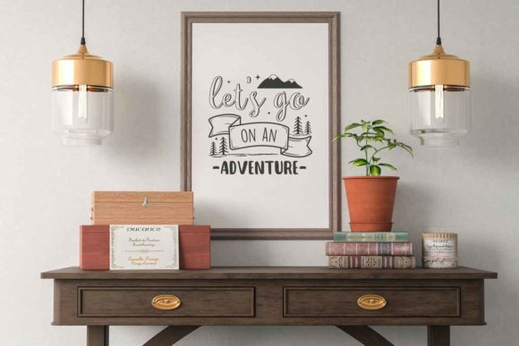 Lets Go On An Adventure Svg File For Adv Graphic By Svgsupply