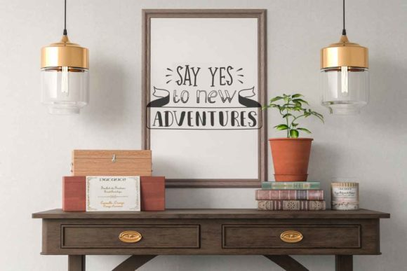 Download Free Say Yes To New Adventure Quotes Svg File Graphic By Svgsupply for Cricut Explore, Silhouette and other cutting machines.